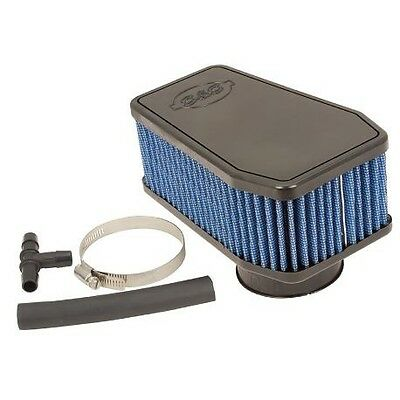 Victory Octane S&s Perf Air Cleaner. 127% Increase Air Flow And Re-Usable!