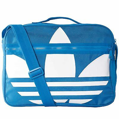 adidas Originals Airliner Trefoil bluebird white
