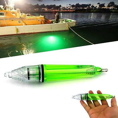1x Fishing Tackle Underwater Light LED Fish Lamp Super Bright Colorful Light EH