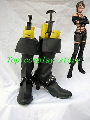 Final Fantasy X-2 Paine Paine's Oerba Dia Vanille Cosplay Boots shoes shoe boot