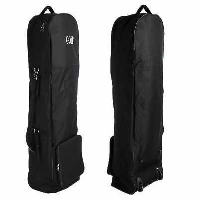 New Padded Golf Bag Flight Travel Case Cover With Wheels Lightweight Holiday