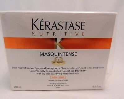 KERASTASE NUTRITIVE MASQUINTENSE  CONCENTRATED NOURISHING TREATMENT FINE 200ml