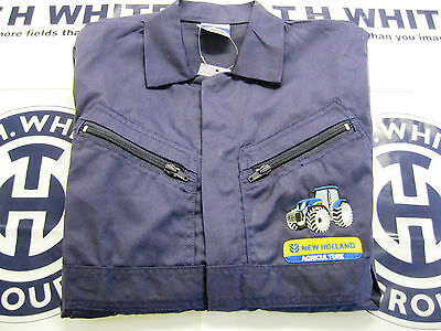 Childrens Portwest Overalls Embroidered New Holland Tractor & Logo   (Ss)