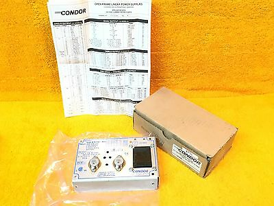 ***new*** Condor Model Haa512 A+  Dc Power Supply 100-240 Vac Input 5-15Vdc Oout