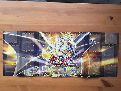Paper Playmat - Rise of the True Dragons Structure Deck - Yu-Gi-Oh! - Yugioh