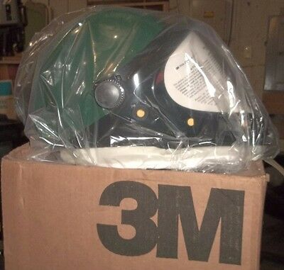 3M Helmet L-901 With Wide View Face Shield L-131  70-0707-9898-1 Green   (Xx3)