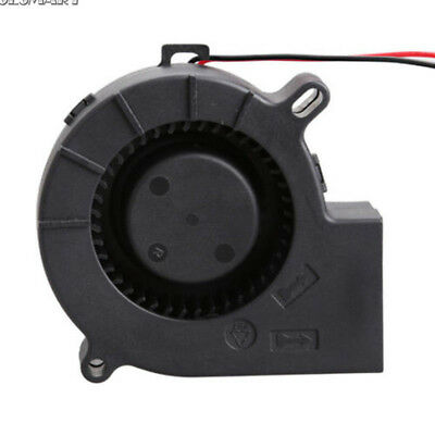 Brushless DC Blower Cooling Fan Sleeve-Bearing 7525S 12V 0.18A 75x25mm 75mm ST