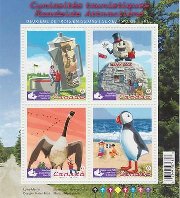 Canada 2010 Souvenir Sheet 2397 Roadside Attractions – 2 MNH