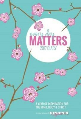 Every Day Matters Desk Diary 2017 9781780289212, Hardback, BRAND NEW FREE P&H
