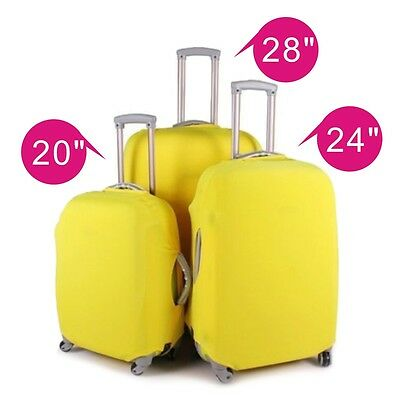 """20-28"""" Luggage Protector Elastic Suitcase Cover Bags Dustproof Anti scratch Gift"""