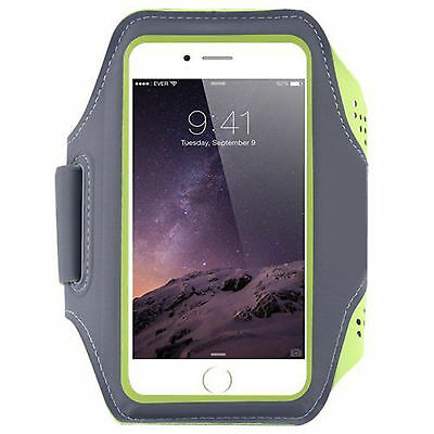Sports jogging running gym Armband Samsung Galaxy s5 s6 s7 & Edge arm strap