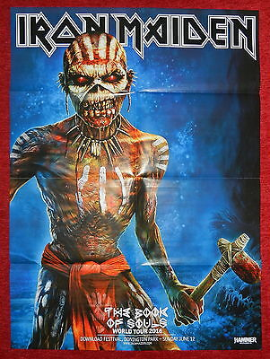 Iron Maiden The Book Of Souls World Tour 2016 Bring Me The Horizon Poster NEW