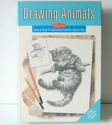 Drawing Animals, Learn to Draw 14 Captivating Creatures by Walter Foster