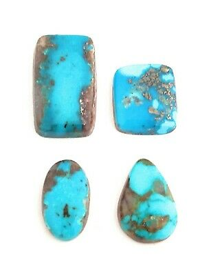 28.5 CT 100% Genuine Persian Turquoise Cabochons