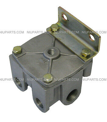 R12 R12H Air Brake Relay Valve Horizontal Ports 103009