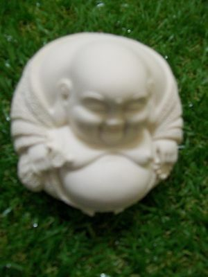 Buddha - paperweight, Ivory Coloured 60mm LB050