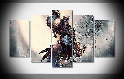 6848 sword world of warcraft Poster print wall decor framed gallery warp