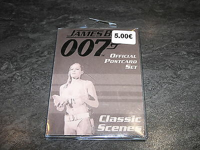 Goodies James Bond 007 Classic Scenes Official Postcard Set Danjaq Occasion