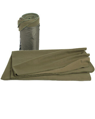 BW ARMY FLEECEDECKE oliv Outdoor Picknickdecke Fleece Decke Armee Bundeswehr