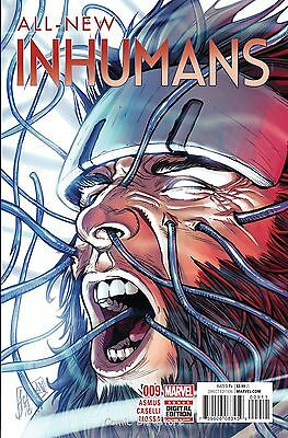 All New Inhumans #9 (2016) 1St Printing  Bagged & Boarded