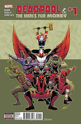 Deadpool And Mercs For Money #1 (2016) 1St Printing (Ongoing) Bagged & Baorded