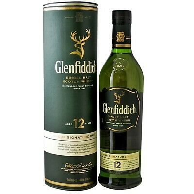 GLENFIDDICH 12 YEAR Single Malt Scotch Whisky 700ml