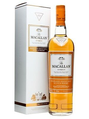The Macallan Amber - 1824 Series Scotch Whisky 700ml