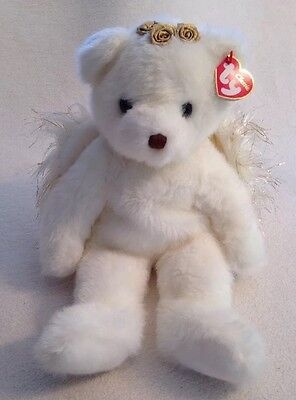 TY Classic DIVINE angel bear large plush. Excellent Condition. 2001