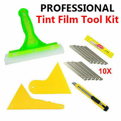 5 PCS Auto Window Tinting Tools Vinyl Wrap Film Application Tools Kits Squeegee