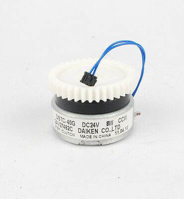 24V DC 8W CCW Electromagnetic clutch  with 39 teeth ABS bevel gear