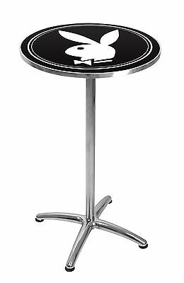 Play Boy Bunny Premium LICENSED BAR TABLE, Man Cave Matching Bar stools inStore