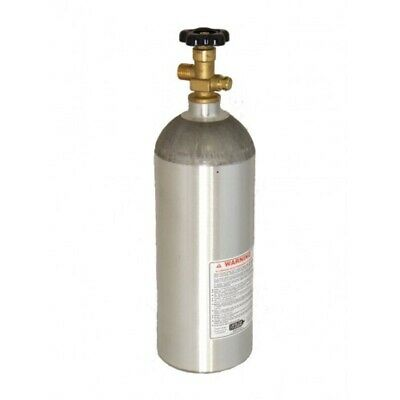 5 LB CO2 Aluminum Cylinder Tank Empty New with CGA 320 Valve (HOMEBREW MAKING)