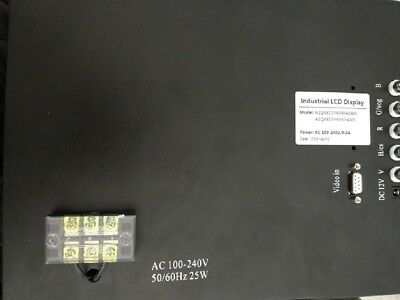 """A1QA8DSP40 14"""" Replacement LCD Monitor replace MAZAK CNC M355 system CRT"""