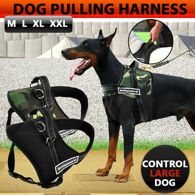 PaWz Control Dog Pulling Harness Adjustable Support Comfy Pet Pitbull Training