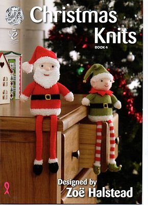 Kingcole Christmas Pattern  Book 4 - 13 xmas designs - Not the finished Items