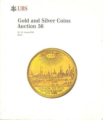 Ubs Auction 56 Auktionskatalog 2003 Gold And Silver Coins