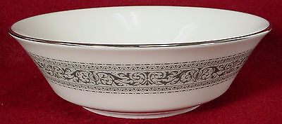"""OXFORD (Lenox) china FILIGREE pattern COUPE CEREAL soup all purpose BOWL 5-3/4"""""""