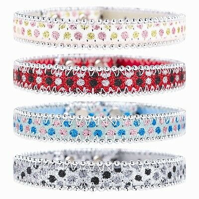 New Sparkly Dog Collar (White, Blue, Red and Grey) brand new