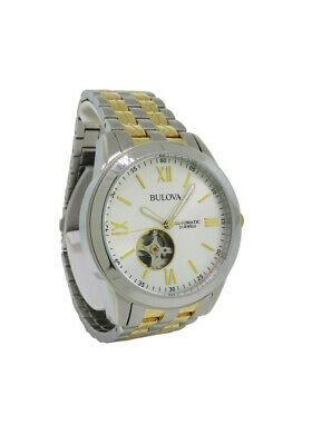 Bulova 98A143 Men's Roman Numeral Automatic Analog Stainless Steel Watch