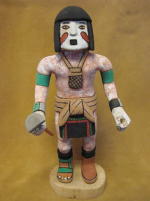 "Hopi Indian Hand Carved ""Pasko"" Kachina by Elmer Adams! Native American"