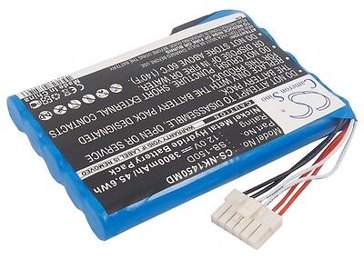 12.0V Battery for Nihon Kohden ECG-1400 ECG-1500 ECG-1510 SB-150D Premium Cell