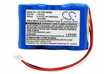 6.0V Battery for Fresenius Optima VS Vial MCM440 OT Vial MCM440 PT 120238 UK NEW