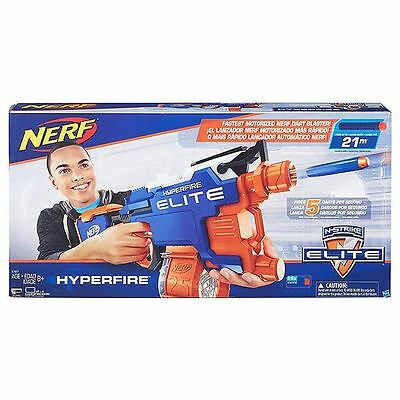 NEW NERF N-Strike Hyperfire Blaster
