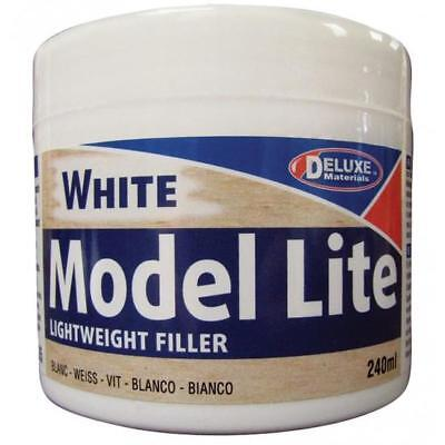 DELUXE MATERIALS BD5 MODEL Filler LITE WHITE 240CC  DELUXE