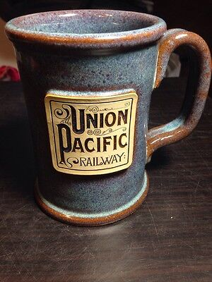 Gorgeous Union Pacific Railway Design Deluxe USA Handcrafted Mug. Free Ship!