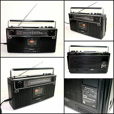 SANYO M9902F Radio Cassette Boombox (Sound issue)