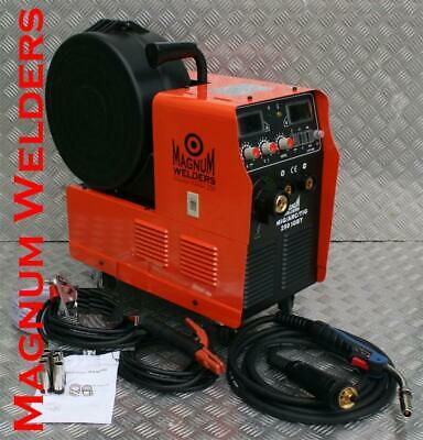 Magnum Welders Mig, Arc, & Lift Tig 250Amp Inverter Welder with 4M Binzel Torch