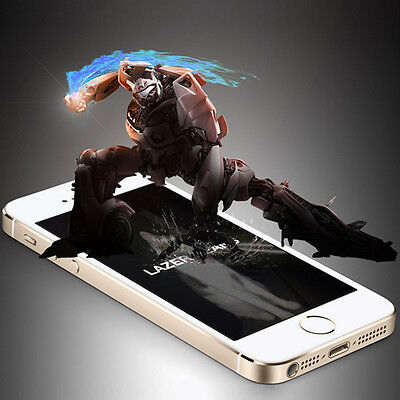 Premium Real Tempered Glass Film Screen Protector Cover for iPhone 5S 5C 5S SE