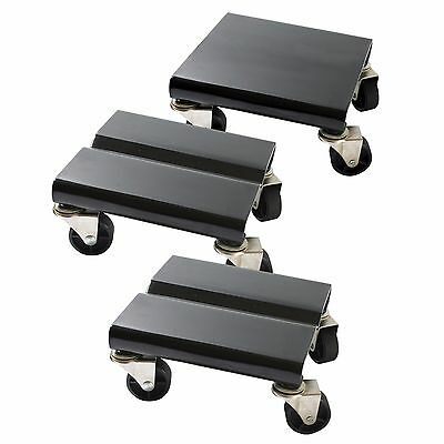 Snowmobile Snow Machine Dolly 3 Pc Sled Universal Transport Moving Storage Pads