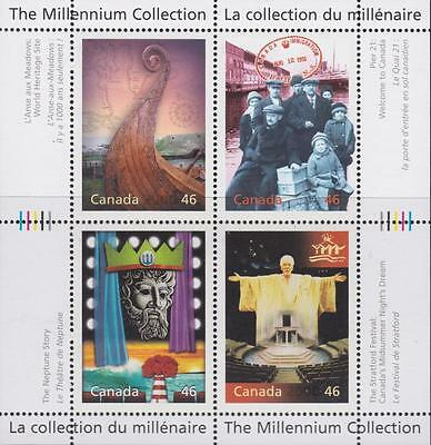 CANADA 2000 Millennium collection #1827 – 10 Canada's Cultural Fabric